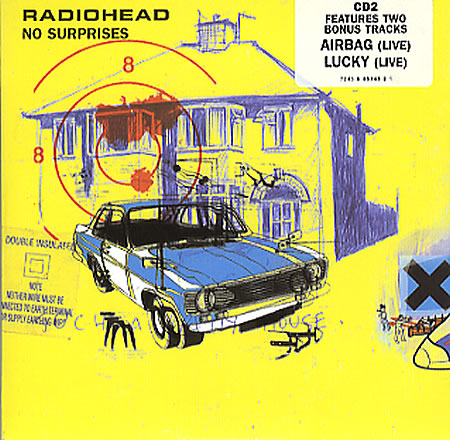 "Radiohead+-+No+Surprises+-+Cd2+-+5""+CD+SINGLE-102491"