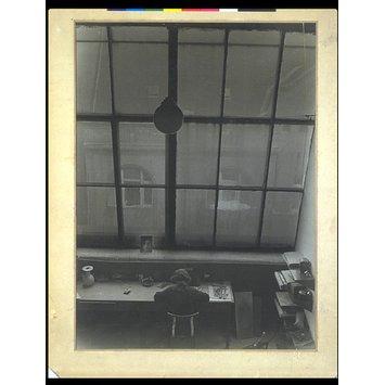 Studio Interior, 1933 Gustav Seiden, 1900 - 1993 Gelatin-silver print