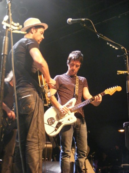 Johnny Marr & Ed - 2009