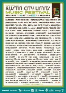 Radiohead @ Austin City Limits Festival @ Austin City Limits Festival | Austin | Texas | États-Unis