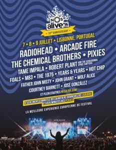 Radiohead @ Lisbonne @ NOS Alive festival | Lisboa | Lisboa | Portugal