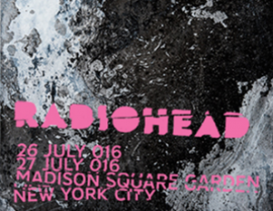 Radiohead @ New York @ Madison Square garden | New York | New York | États-Unis
