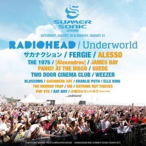 Radiohead @ Osaka @ SummerSonic Festival | Ōsaka-shi | Ōsaka-fu | Japon